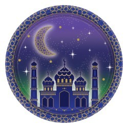Eid/Ramadan Plates 8 pieces
