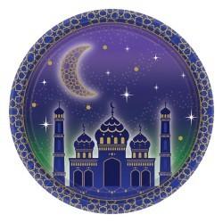 Eid/Ramadan Plates 8 pieces