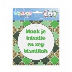 Wudu Stickers Green