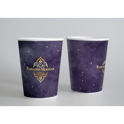 Cups - Ramadan lila / gold...
