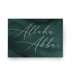 Sticker - Allahu Akbar (5 pcs)