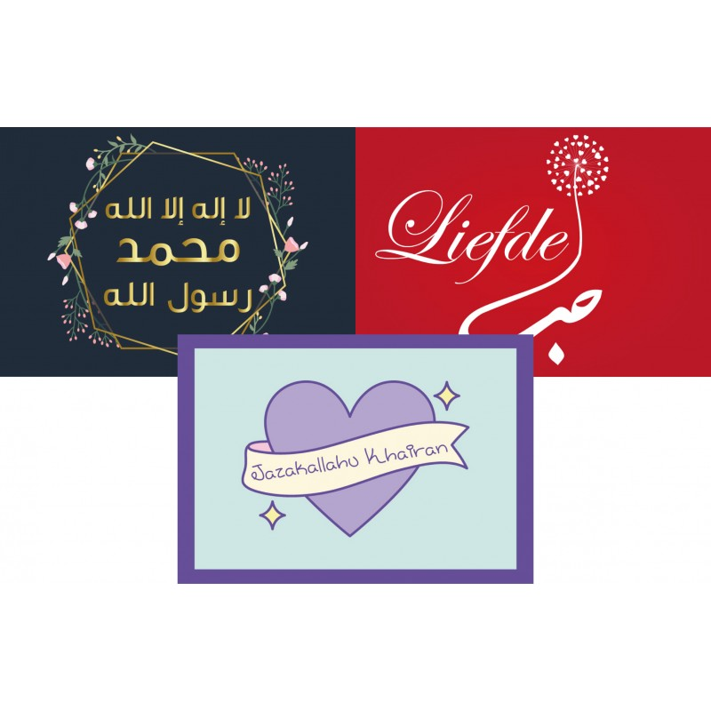 Stickers - bundle of 6 pieces