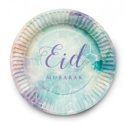 Eid Plates watercolor(6 pack)