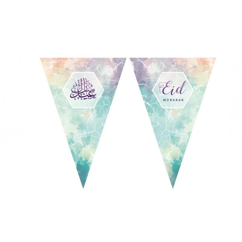 Eid Bunting Watercolour