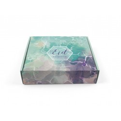 Pastry box Eid - watercolor