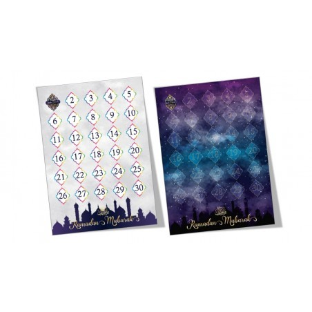 Ramadan countdown poster (double sided)
