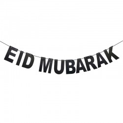 Eid Mubarak Slinger Zwart