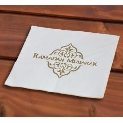 Ramadan servetten goud(40 stuks)