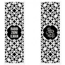 Large bookmark Black / White