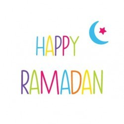 Carte de voeux joyeux ramadan