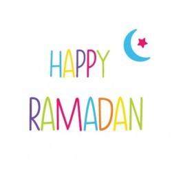 Greeting Card Happy Ramadan
