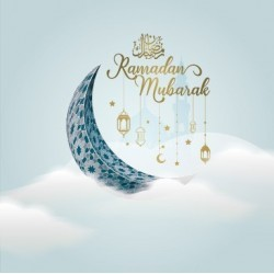 Postcard Ramadan Clouds
