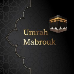 Wenskaart Umrah kleine Kaaba