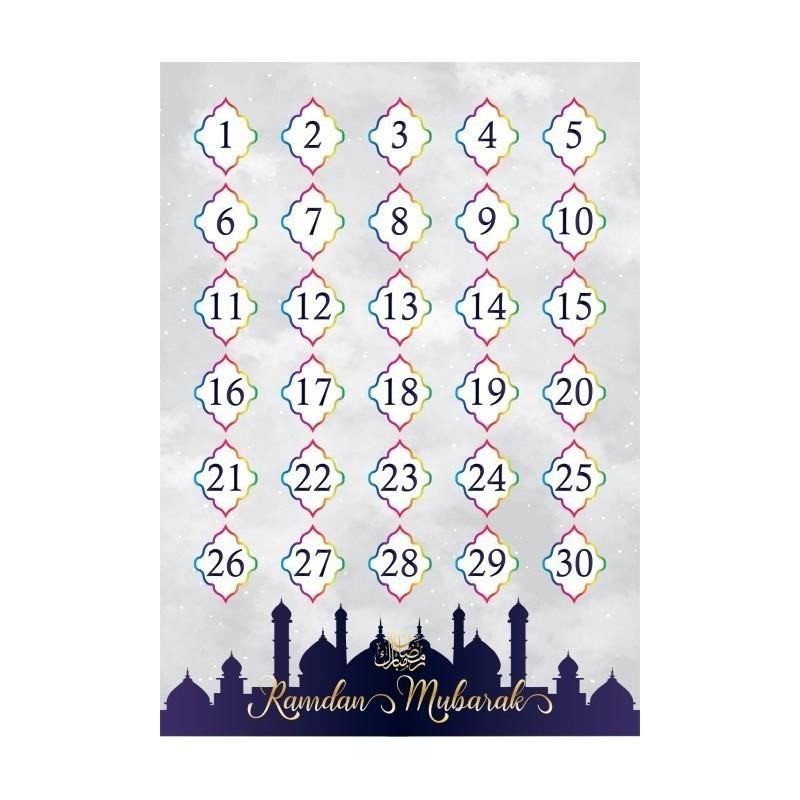 Ramadan aftelposter (dubbelzijdig)