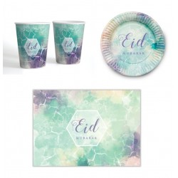 Ess-Set (6 Personen) Aquarell