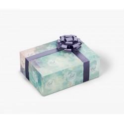 Emballage cadeau aquarelle