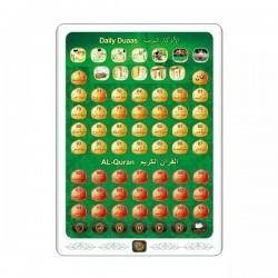 Tablette Coran Vert