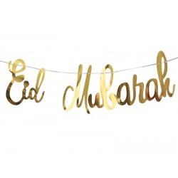 Eid Mubarak Letter Banner -...