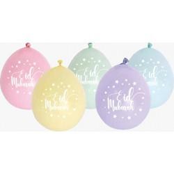 Rainbow balloons Eid...