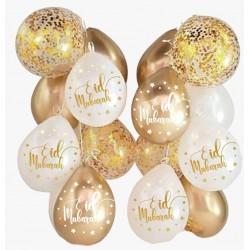 Eid Balloon Mix Marble Gold...