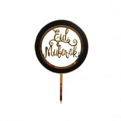 Eid Mubarak Taarttopper Rond