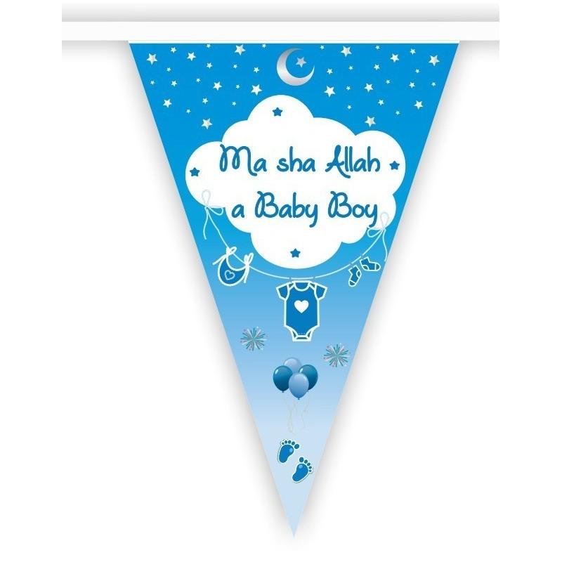 Slinger geboorte 'Masha allah a baby boy'