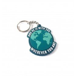 Keychain - and He is with...