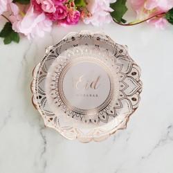 Plates Desert Rose