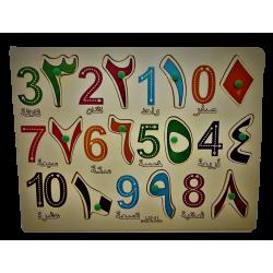 Puzzel - Arabische Cijfers