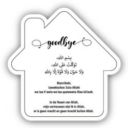 Dua sign - Home goodbeye