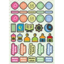 Reward stickers - kids dots