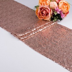 Table runner - pink gold