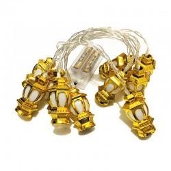 LED Lights - Golden Lantern...