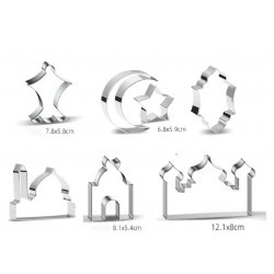 cookie cutters complete set