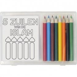 Kleurboekje + Kleurpotloden...