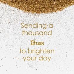 Greeting Card - Sending Dua...