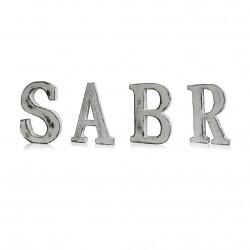 Houten Letters - Sabr