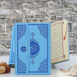 Quran with Coloured Cover -...