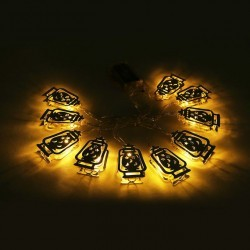 Lichtjes lampion plat (B)