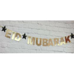 Eid Letterslinger goud met...