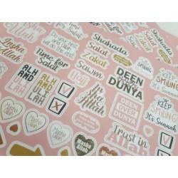 Beloningsstickers - Pink