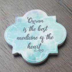 Quatrefoil Magnet - Medicine
