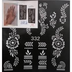 Henna Sjabloon - 332