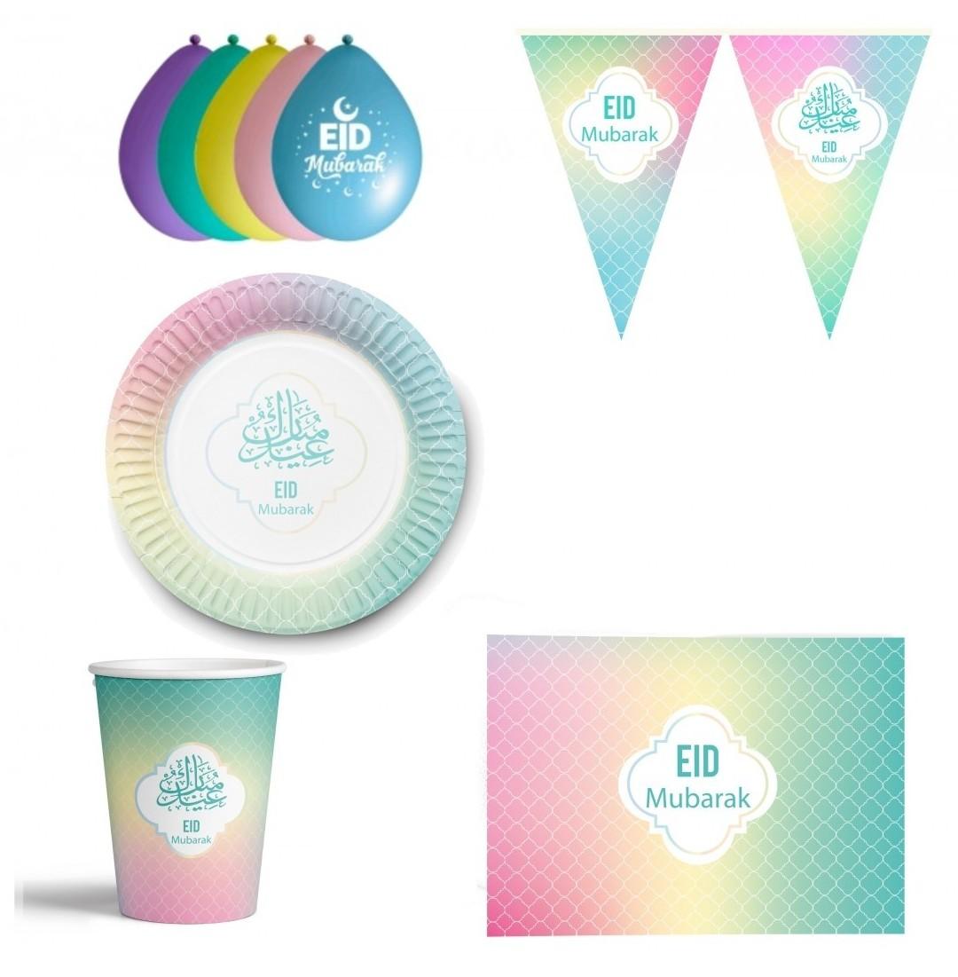 Pastel Eid Design