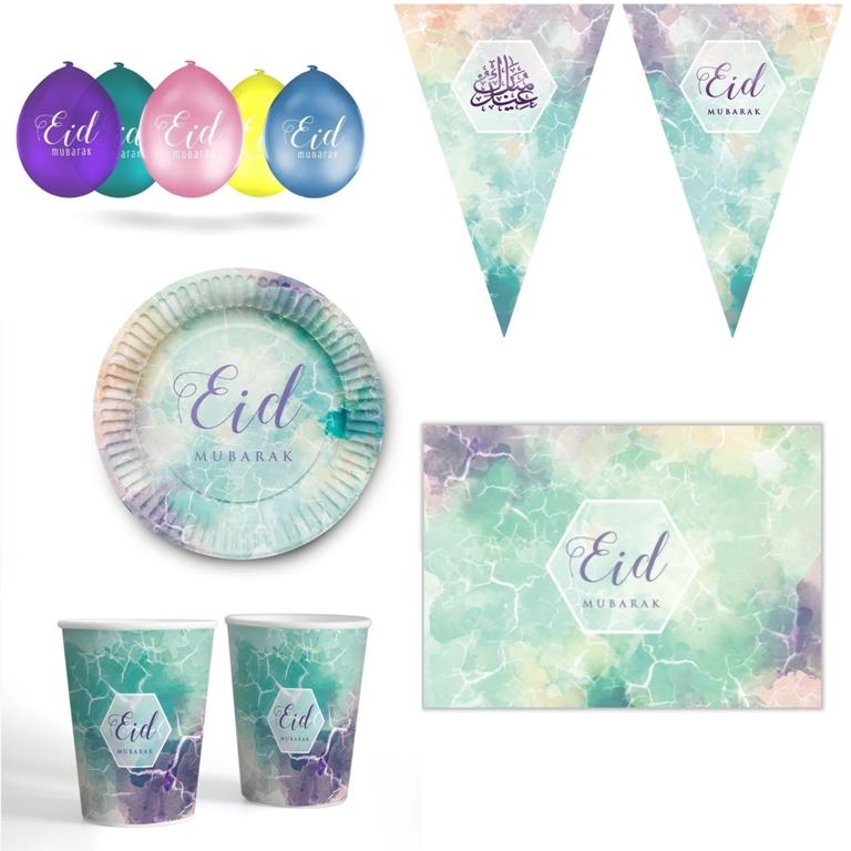 Watercolour Eid Design