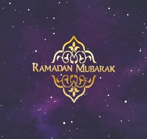 Ramadan Paars/Goud