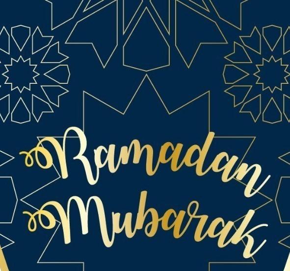 Ramadan Blauw/Goud